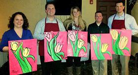 Paint & Sip Event