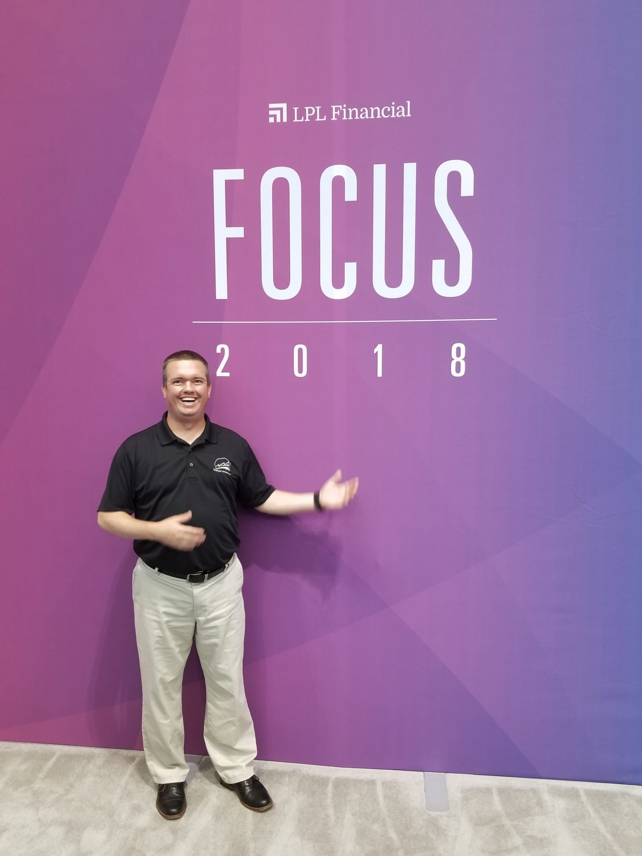 Pat at FOCUS